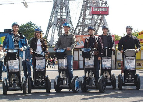 Segway Special Tours for companies